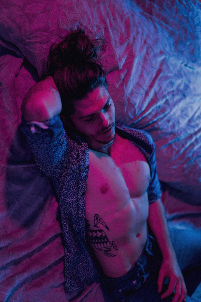 photographe modèle homme clovis lecannnellier