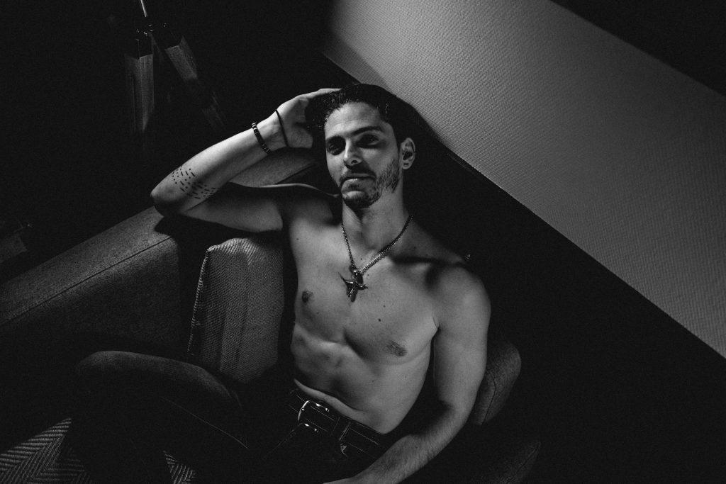 modèle homme portrait